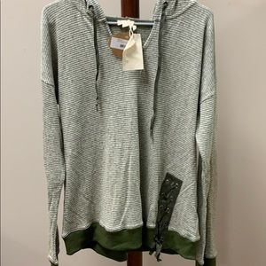 Boutique hooded sweatshirt